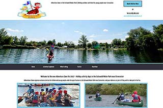 Adventure Zone in the Cotswold Water Park