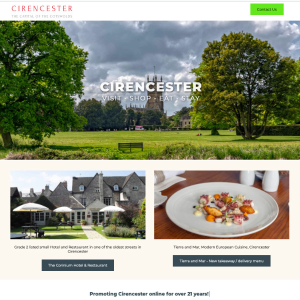 The Cirencester Website