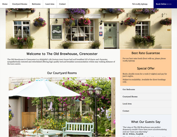 The Old Brewhouse Bed and Breakfast, Cirencester